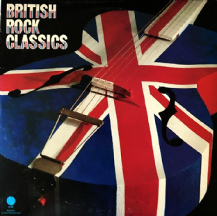 V/A - British Rock Classics (LP) (VG+/VG-)